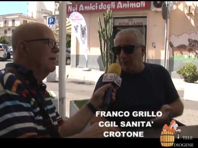 Dl sanita' Calabria, Franco Grillo Cgil: «Provvedimento si e' limitato a nomina commissari»