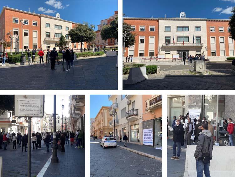 Monta la protesta degli esercenti crotonesi: «Finanziamenti a fondo perduto e stop a tasse 2020»