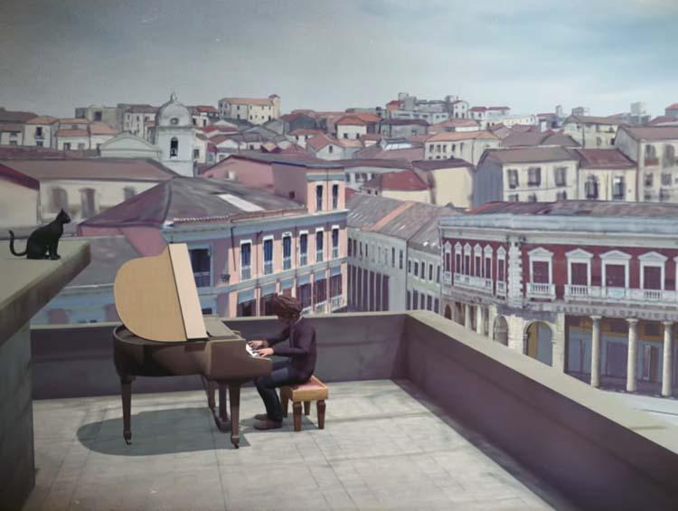 Dai tetti di piazza Pitagora, Sergio Cammariere canta la sua Crotone nell'ultimo videoclip «Con te saro'»